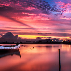 Violet by Muhammad Syuhada - Landscapes Waterscapes