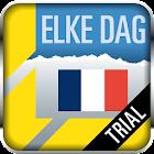 Elke Dag Frans Trial icon