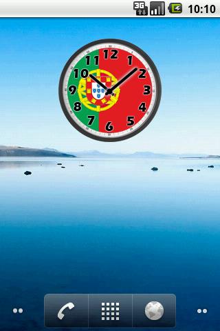 Portugal Clock