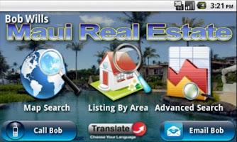 Screenshot of Maui Real Estate