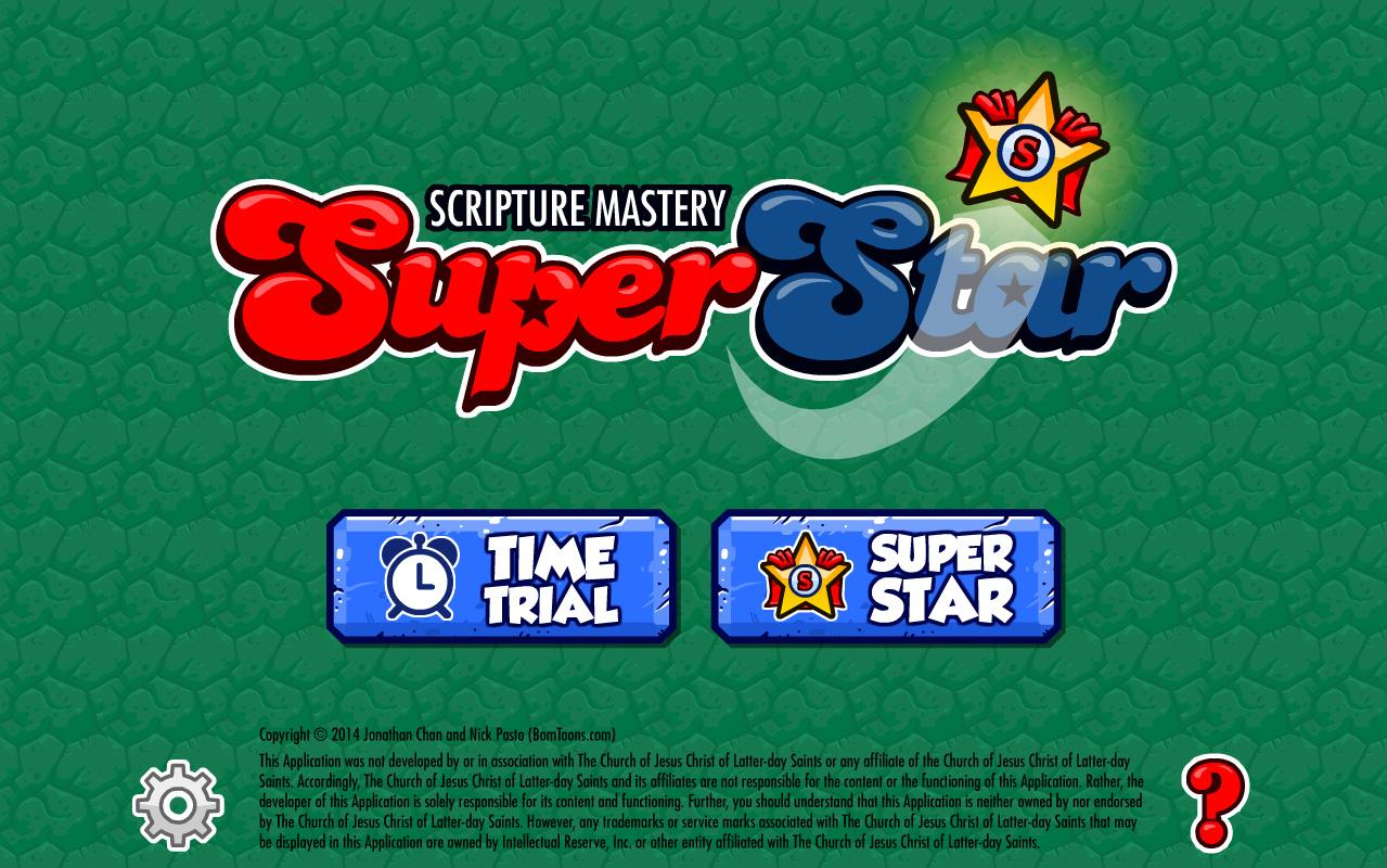 Scripture Mastery SUPERSTAR!- screenshot