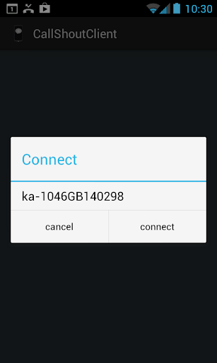 CallShout Phone Application