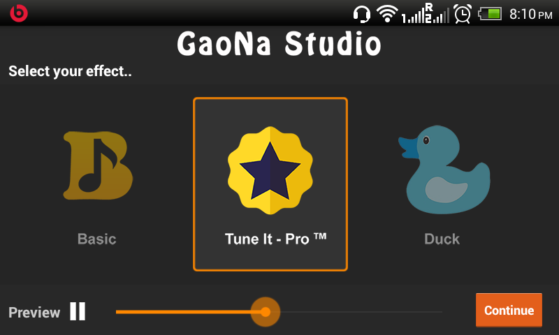 GaoNa Karaoke- screenshot