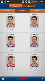 Edmonton Oilers Mobile - screenshot thumbnail