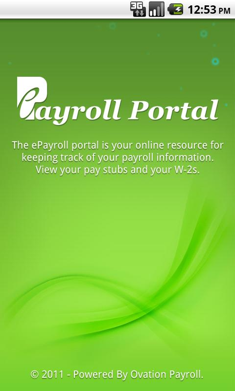 ePayroll Portal - screenshot