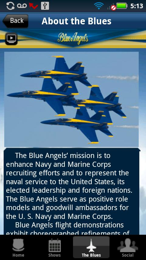 Blue Angels - screenshot