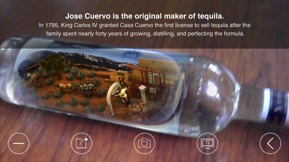 Cuervo History in a Bottle- screenshot