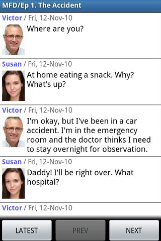 Messaging Family Drama Free- screenshot