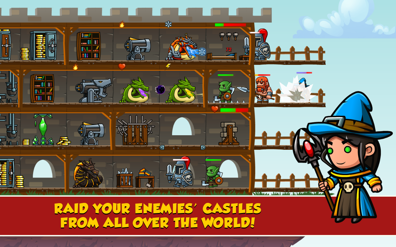 Arcanox: Cards vs. Castles- screenshot