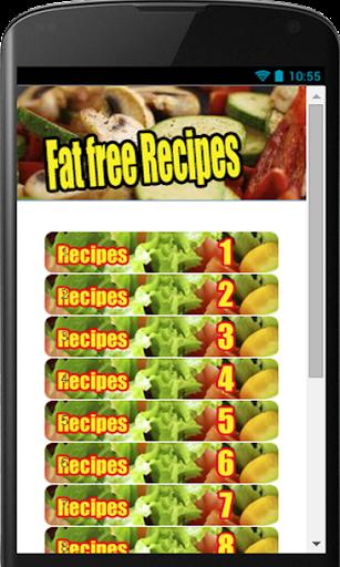 FAT FREE RECIPES