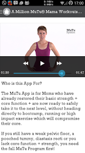 A Million MuTu Mama Workouts- screenshot thumbnail