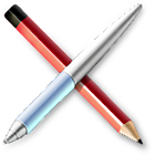 WikiAndPad alpha/beta icon