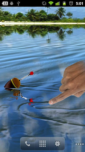 Download fishing float live wallpaper l for pc for Fishing for floaters game