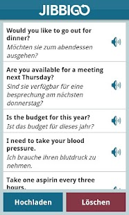 Jibbigo Translator 2.0 - screenshot thumbnail