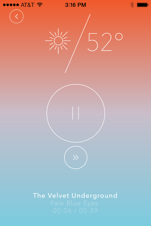 Weatherjams- screenshot