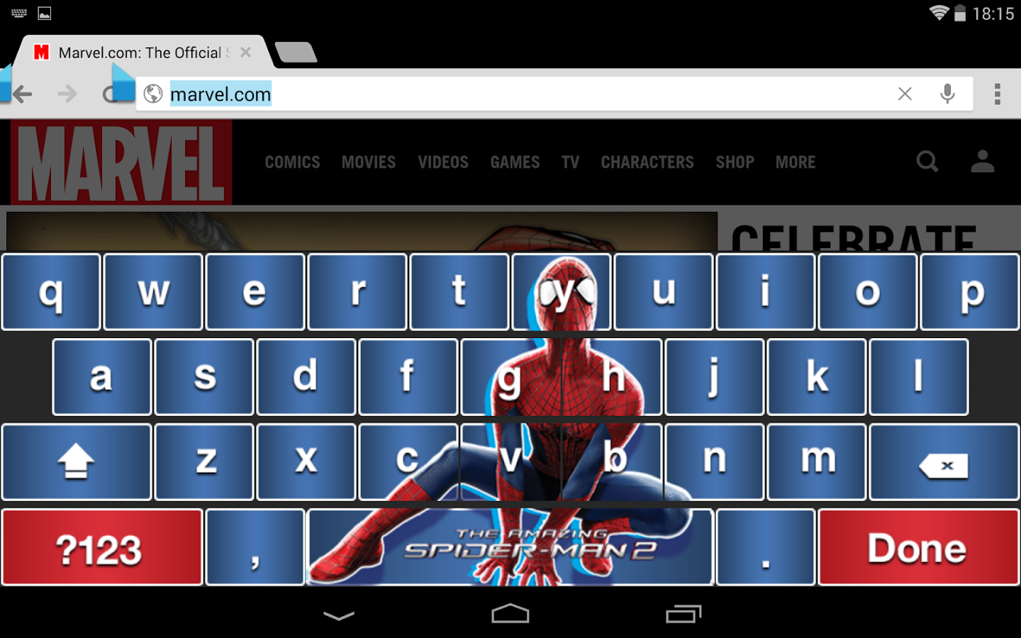 amazing spider man 2 keyboard android apps on google play