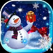 New Year Snowman 2015 LWP