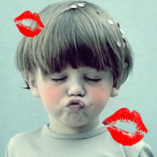 亲吻可爱的宝宝 休閒 App LOGO-APP試玩