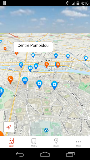 Paris Offline City Map GPS