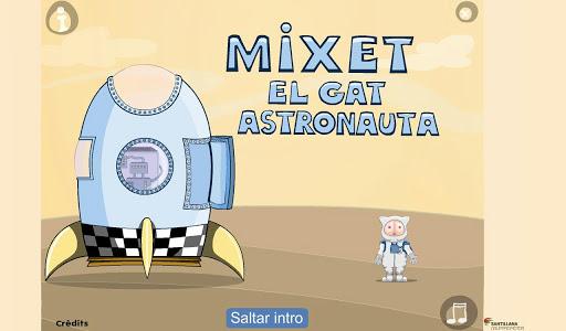 Mixet el gat astronauta CAT