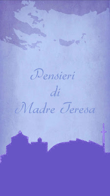 Pensieri di Madre Teresa - screenshot