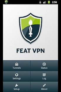 FEAT VPN for OpenVPN - screenshot thumbnail