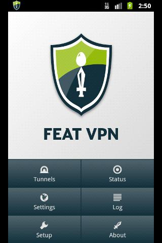 FEAT VPN for OpenVPN - screenshot