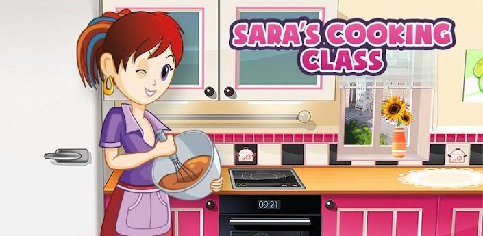 Кухня Сары - игра для андроид готовим еду