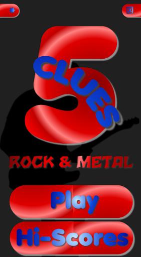 5 Clues - Rock n Metal Edition