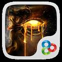Fire Craftsman GO Theme icon