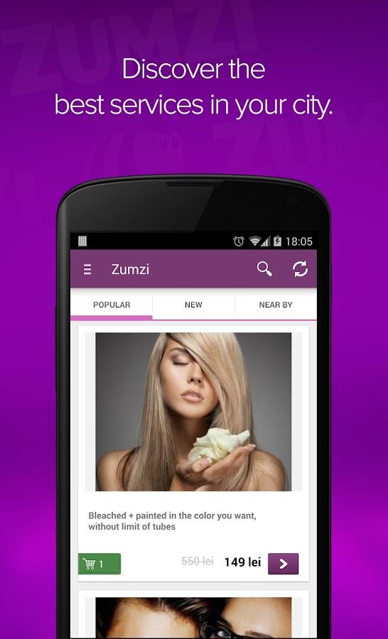 Zumzi - screenshot
