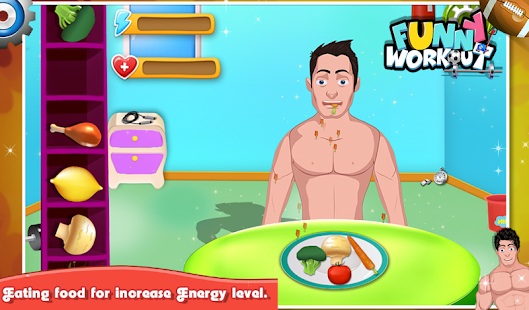 Funny Workout - Kids Game- screenshot thumbnail