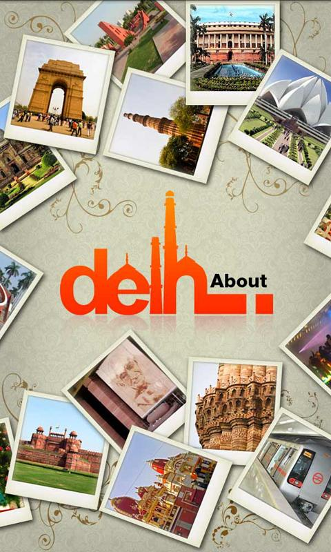 About Delhi - screenshot