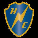 Härryda Energi Ladda elbil logo