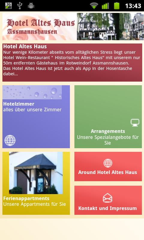 Hotel Altes Haus- screenshot