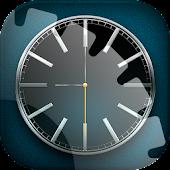 Live Wallpaper Black Clock