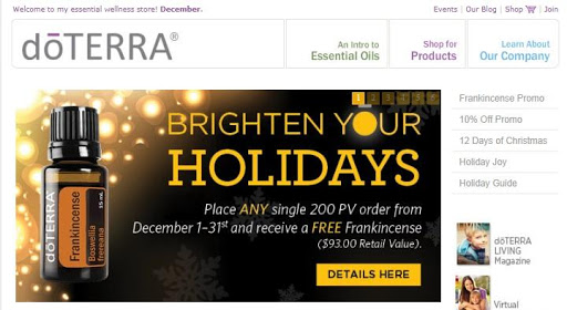Doterra with December