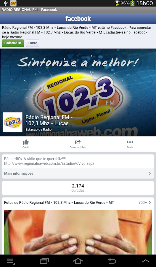 RADIO REGIONAL FM- screenshot