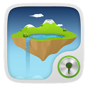 Sky Island  GO Locker Theme icon