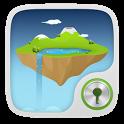Sky Island  GO Locker Theme icon