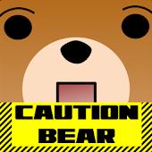 STRIKE the bear lock screen