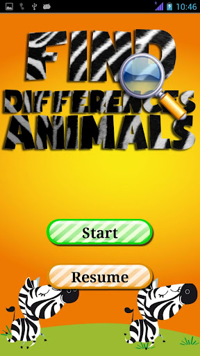 Find differences Animals