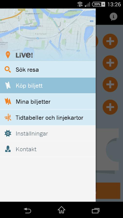 Karlstadsbuss - screenshot