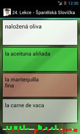 Španělština - Slovíčka