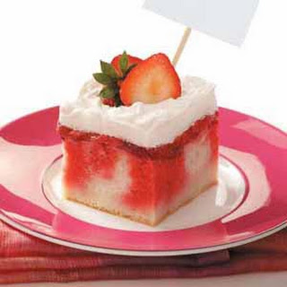Strawberry Shortcake Dessert.