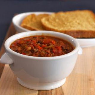 Ground Beef and Sausage Chili