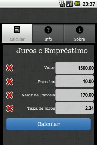 【免費財經App】Juros & Empréstimo-APP點子