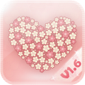 Flowerlove Theme GO LauncherEX icon
