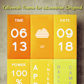 Yellowish Theme ssLauncher OR
