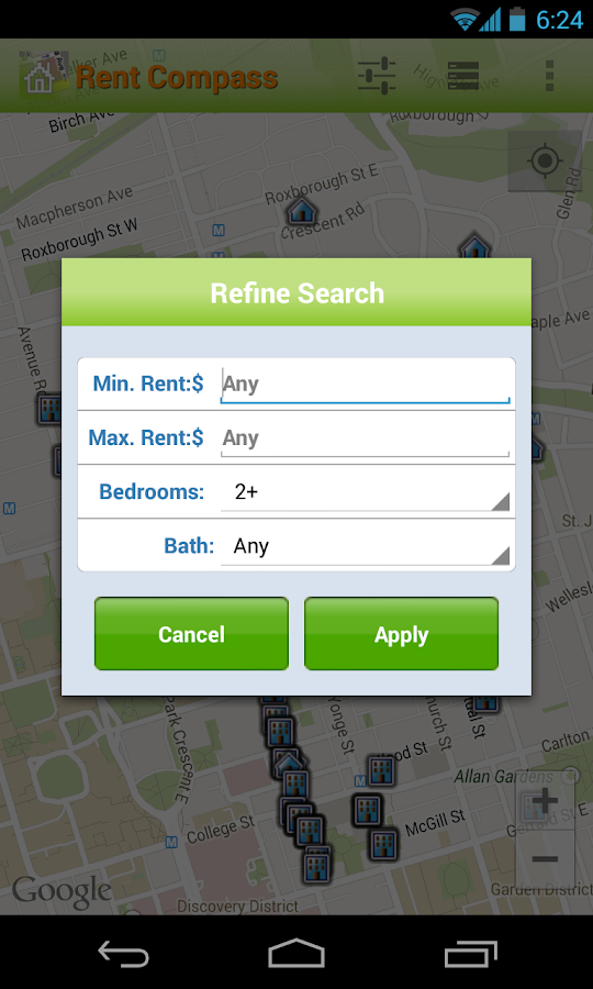 Apartment Rentals in Canada - screenshot